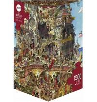 Heye - Dreieckspuzzle 1500 Teile - Prades Heaven Hell