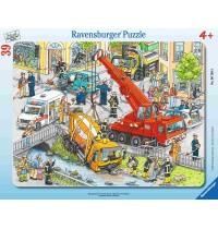 Ravensburger Puzzle - Rahmenpuzzle - Rettungseinsatz, 39 Teile