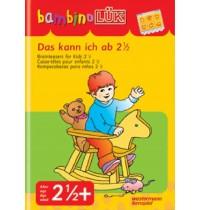 bambinoLÜK - Das kann ich mit 2,5