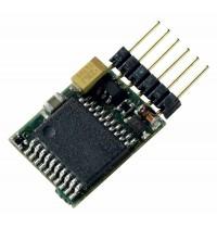 Roco - Digital - H0e / N - DCC-Decoder mit ungewinkelten Kontaktstiften