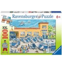 Ravensburger Puzzle - Polizeirevier, 100 Teile