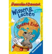 Ravensburger Spiel - Mitbringspiel Mauseschlau und Bärenstark: Wissen und Lachen