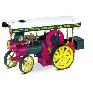 Wilesco D 499 - Showman`s Engine inkl. RC-Anlage