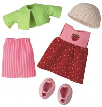 HABA® - Kleiderset Erdbeere für 30 cm große Puppen