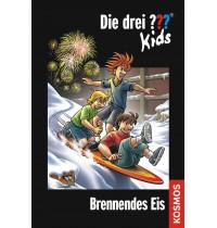 KOSMOS - Die drei ??? Kids, Brennendes Eis (Jumboband) Band 40