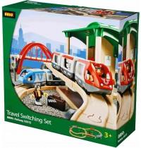 BRIO Bahn - Großer Bahn Reisezug Set