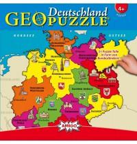 Amigo Spiele - GeoPuzzle Deutschland
