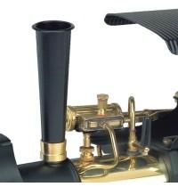 Wilesco D 366 - Dampfwalze schwarz/messing