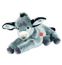 Teddy-Hermann - Esel liegend, 50 cm