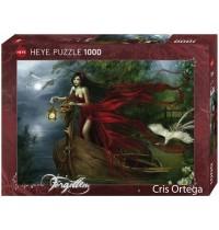 Heye - Standardpuzzle 1000 Teile - Cris Ortega, Swans