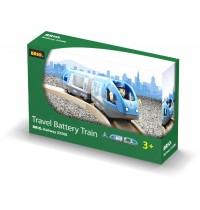 BRIO Bahn - Blauer Reisezug (Batteriebetrieb)