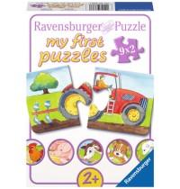 Ravensburger Puzzle - my first Puzzle - Auf dem Bauernhof, 9x2 Teile