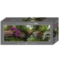 Heye - Panoramapuzzle 6000 Teile - Alexander von Humboldt, Bodnant Garden
