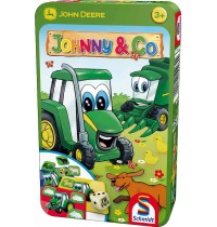 Schmidt Spiele - John Deere, Johnny & Co., in Metalldose