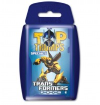 Winning Moves - Top Trumps Transformers Prime