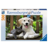 Ravensburger Puzzle - Mittagspäuschen, 500 Teile
