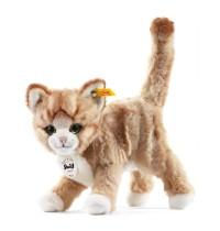 Steiff - Beliebteste Kuscheltiere - Hunde & Katzen - Mizzy Katze, blond gestromelt, 25cm