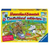 Ravensburger Spiel - Mauseschlau und Bärenstark Deutschland entdecken