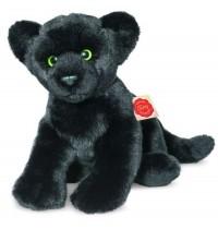Teddy-Hermann - Panther sitzend, 32 cm