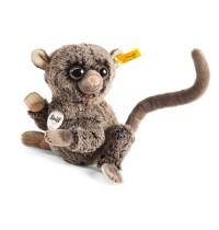 Steiff - Kuscheltiere - Wildtiere - Koko Koboldmaki, dunkelbraun gespitzt, 17cm