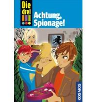 KOSMOS - Die drei !!! - Achtung, Spionage (Band 40)