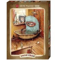 Heye - Standardpuzzle 1000 Teile - Zozoville, Bathtub