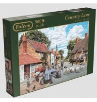 Jumbo Spiele - Puzzle - Falcon de luxe - Country Lane, 500 Teile