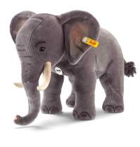 Steiff - Giganten - Großtiere - Studio Elefant, grau, 75cm