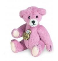 Teddy Hermann - Miniaturen - Teddy rose, 5 cm