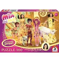 Schmidt Spiele - Puzzle - Mia im Elfenpalast, 200 Teile