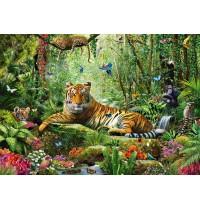Schmidt Spiele - Puzzle - Tiger-Dschungel, 1500 Teile