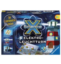 Ravensburger Spiel - ScienceX - - Mini Elektroleuchtturm