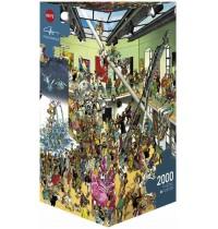 Heye - Dreieckspuzzle 2000 Teile - Performance, Giuseppe Calligaro