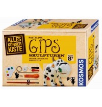 KOSMOS - Alles Könner Kisten - Gips-Skulptur