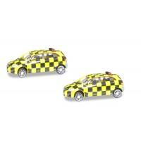 Herpa Wings - Scenix Mercedes-Benz Follow-Me Van (2er Set)