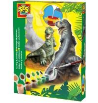 SES Creative - Gipsgießset T-Rex