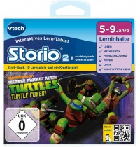 VTech - Storio Lernspiel - Teenage Mutant Ninja Turtles