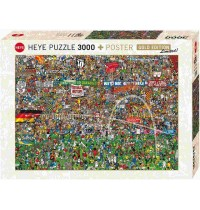 Heye - Standardpuzzle 3000 Teile - Football History