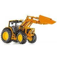 Wiking - John Deere 7430 kommunal mit Frontlader und Frontlader-Werkzeugen