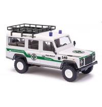 Busch Automodell - Landrover Defender Alpin-Notruf Triestingtal