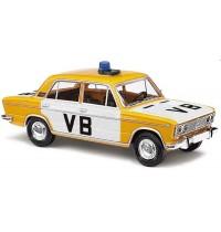 Busch Automodell - Lada 1500 Polizei Tschechien