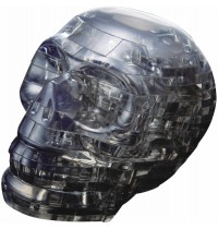 Jeruel Industrial - Crystal Puzzle, Schädel schwarz