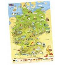 Coppenrath - Felix-Deutschlandkarte