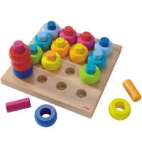 HABA® - Steckspiel Farbkringel
