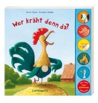 """Coppenrath - Pappbilderbuch mit Soundmodul """"Wer kräht denn da?"""" (Soundbooks)"""