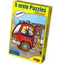HABA® - Erste Puzzle Dreheffekt Fahrzeuge