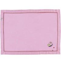 Die Spiegelburg - Kuscheldecke BabyGlück, rosa