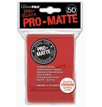 UltraPRO - Pro-Matte Sleeves Red, 50
