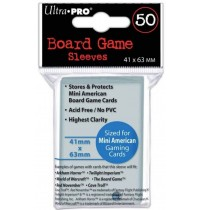 UltraPRO - Board Game Sleeves 41x63mm, 50