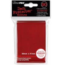 UltraPRO - Lava Red Protector, 50